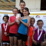 Kinderlauf in Oberperfuss am 13.6.2015