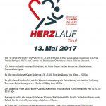 1. Tiroler Herzlauf am 13. Mai 2017